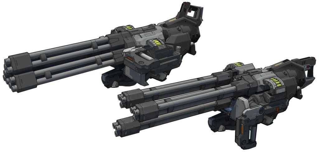 Doom Waffen Guide Alle Waffen Aus Doom Im überblick Chaingun