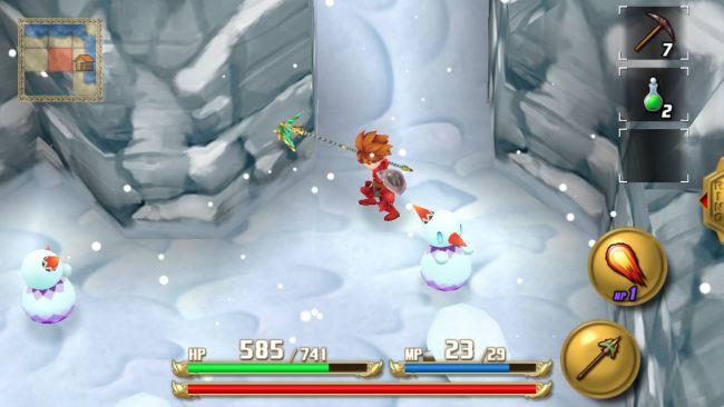 Adventures of Mana - Screenshots - Bild 20