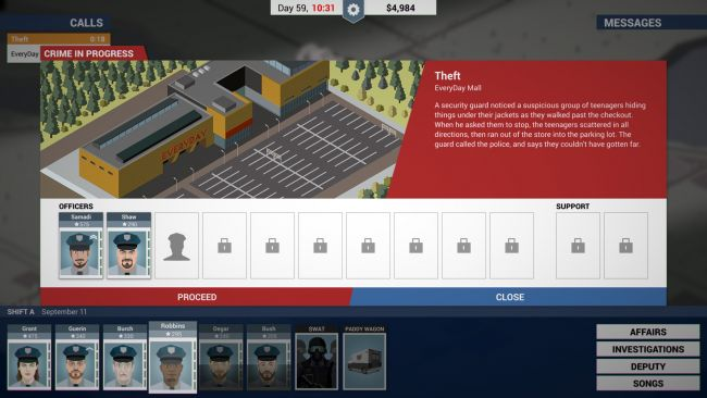 This Is the Police - Screenshots - Bild 1