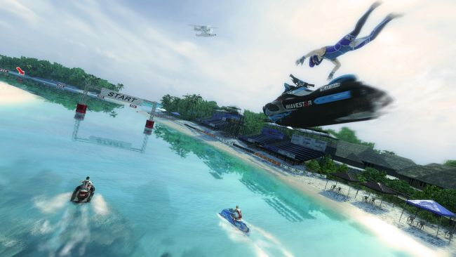 Aqua Moto Racing Utopia - Screenshots - Bild 1