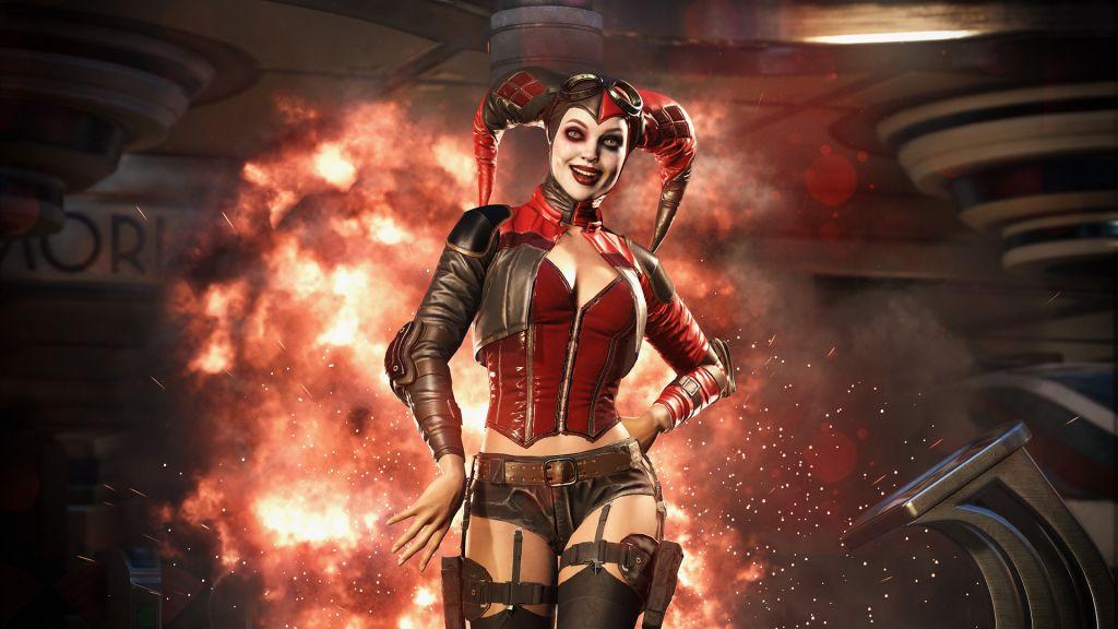 Injustice 2 Harley Quinn Deadshot Und Aquaman Screenshots Von