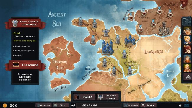 Dungeon Rushers - Screenshots - Bild 1