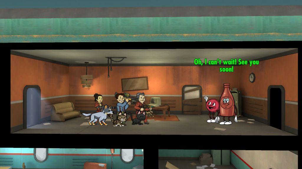 Fallout Shelter Feiert Thanksgiving Im Bunker News Von Gameswelt