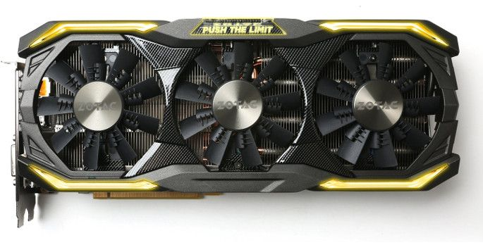 ZOTAC GeForce GTX 1080 AMP! Extreme - Test