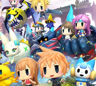 World of Final Fantasy - Test
