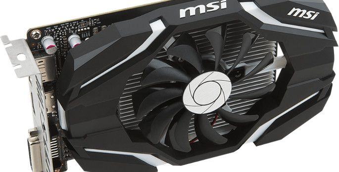 MSI GeForce GTX 1050 2G OC - Test