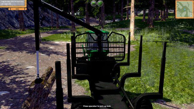 Forstmaschinen: Profis im Wald - Screenshots - Bild 5
