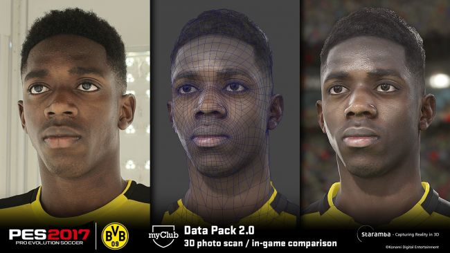 Pro Evolution Soccer 2017 - Data Pack #2 - Artworks - Bild 1