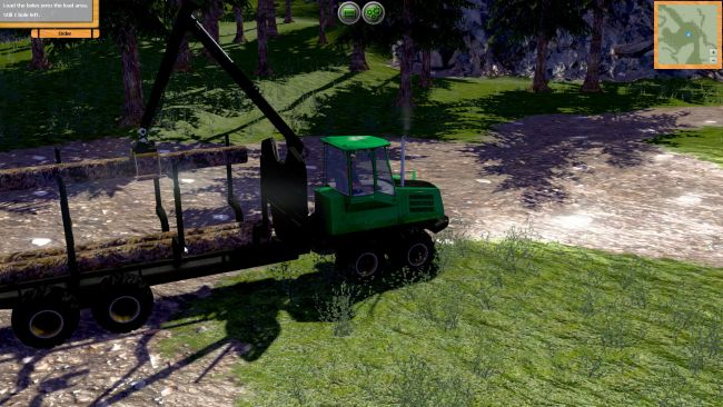 Forstmaschinen: Profis im Wald - Screenshots - Bild 10