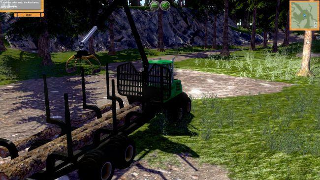Forstmaschinen: Profis im Wald - Screenshots - Bild 9