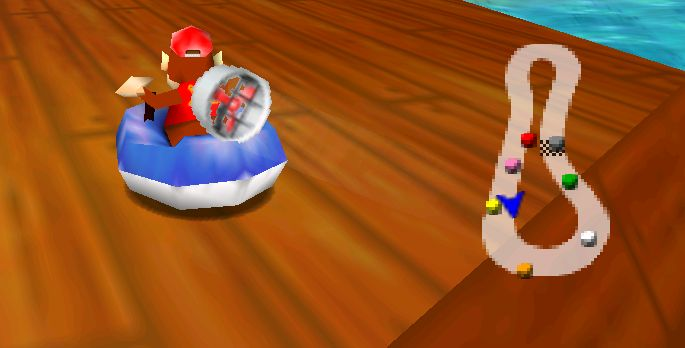 Diddy Kong Racing - Test