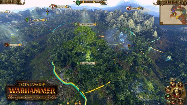 Total War: Warhammer - DLC: Das Reich der Waldelfen - Screenshots - Bild 3