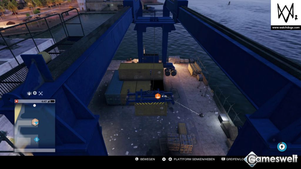 Watch Dogs  Container Mission