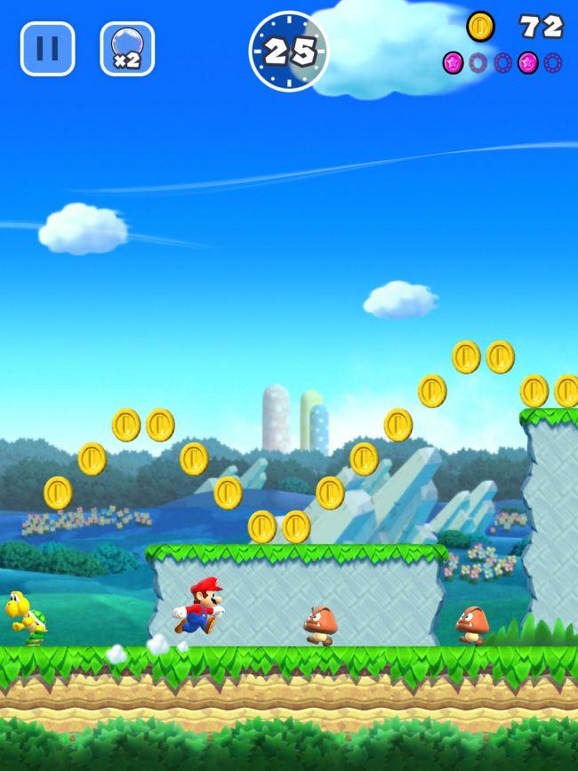 Super Mario Run - Screenshots - Bild 1