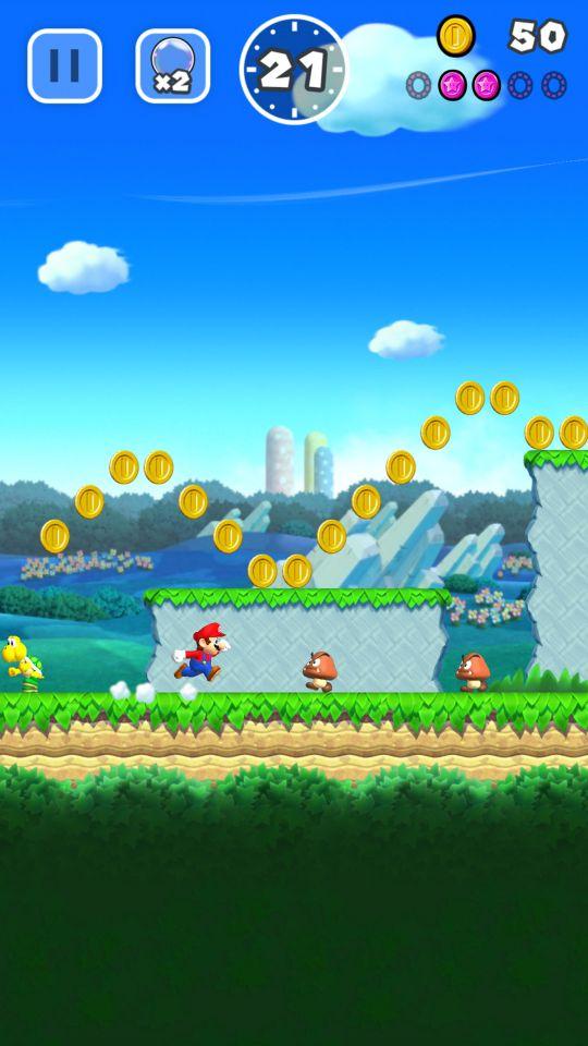 Super Mario Run - Screenshots - Bild 2