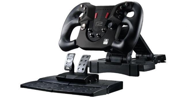 playstation 4 pace wheel offiziell lizenziertes lenkrad. Black Bedroom Furniture Sets. Home Design Ideas