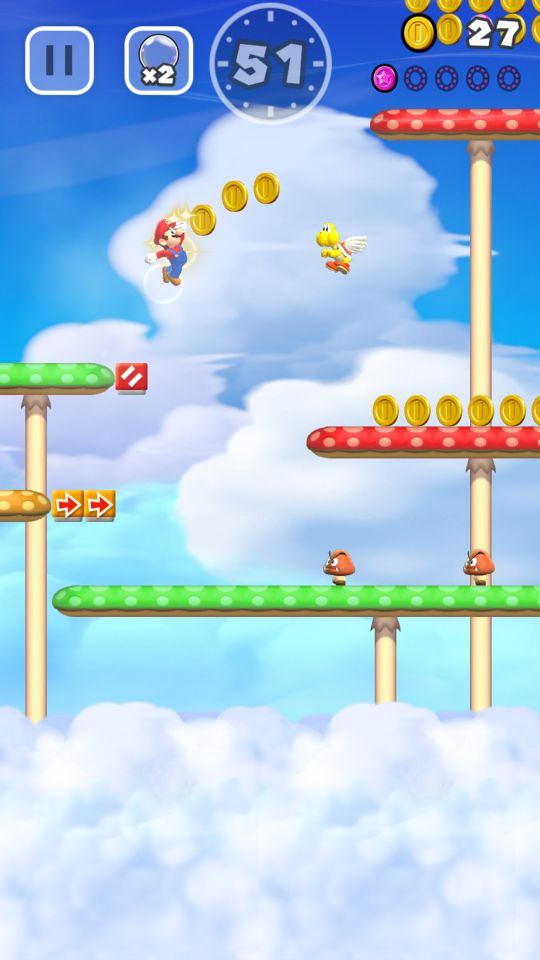 Super Mario Run - Screenshots - Bild 6