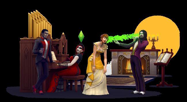 Die Sims 4 - DLC: Vampire Gameplay-Pack - Screenshots - Bild 6