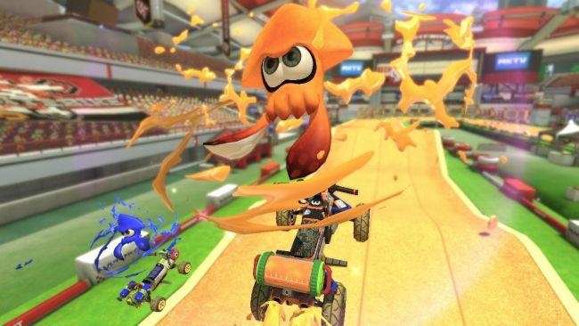 Mario Kart 8 Deluxe: Blitzstart: Switch-Fassung rast davon