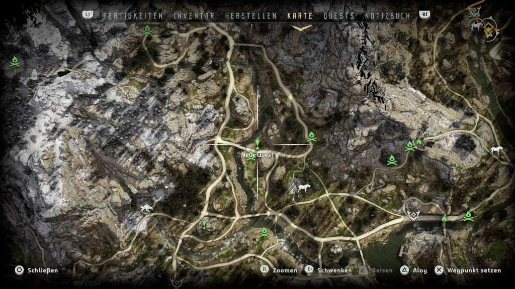 Horizon Zero Dawn Karte Energiezellen.Horizon Zero Dawn Komplettlosung Tipps Fundorte Aller