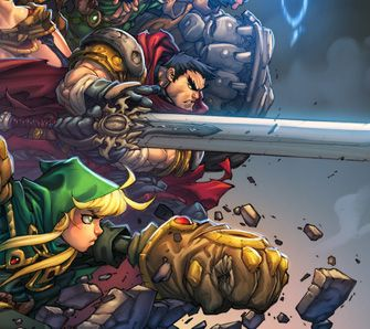 Battle Chasers: Nightwar - Test