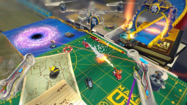 Micro Machines World Series - Screenshots - Bild 1