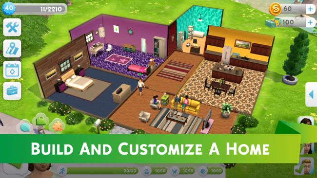 Die Sims Mobile - Screenshots - Bild 1