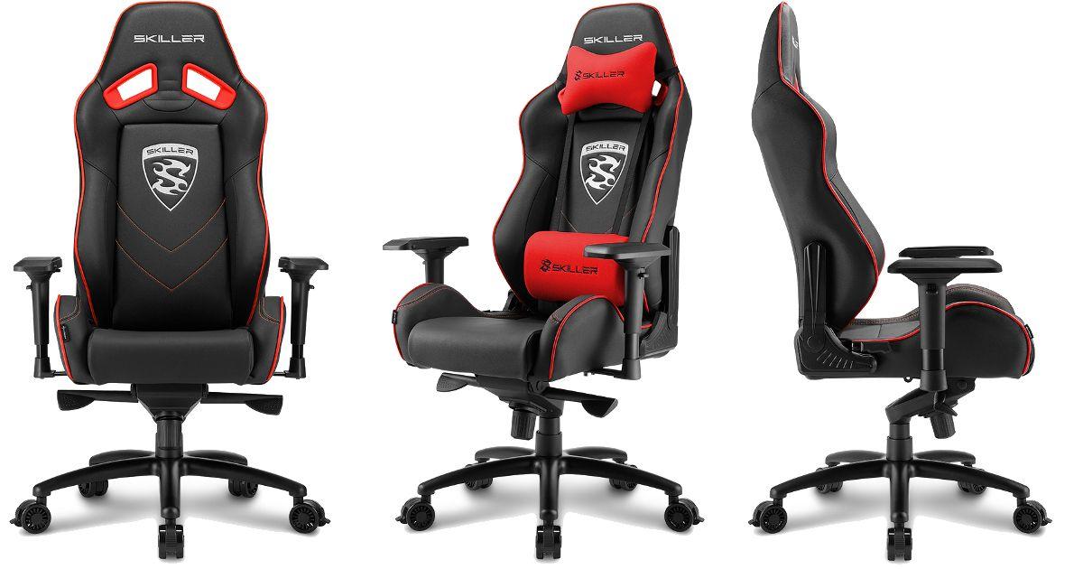 Sharkoon Skiller Sgs3 Premium Gaming Seat Angek 252 Ndigt