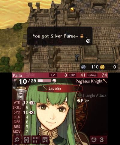 Fire Emblem Echoes: Shadows of Valentia - Screenshots - Bild 1