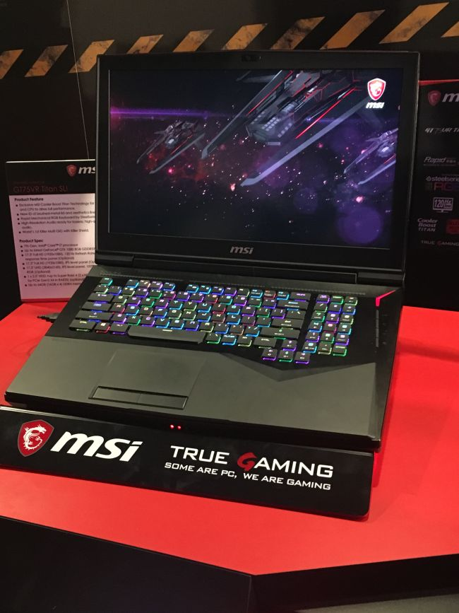 MSI Gaming-Notebooks - Screenshots - Bild 1