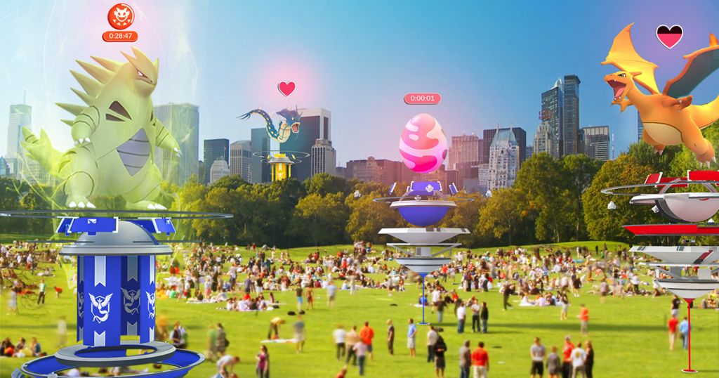 Pokémon GO: Überarbeitete Arenen und Raids im neuesten Update