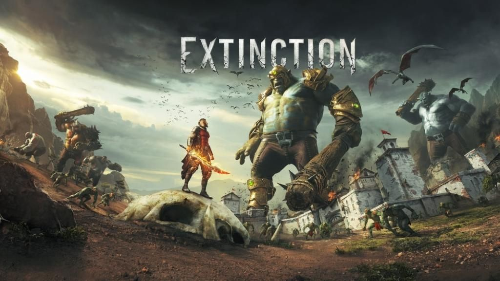 Iron Galaxy kündigt Extinction an Actionspiel für PC, Xbox One & PS4