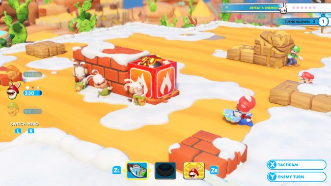 Mario & Rabbids: Kingdom Battle - Screenshots - Bild 9