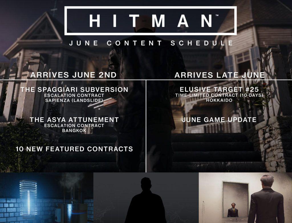 Hitman: Die Inhalte für den Monat Juni in der Übersicht