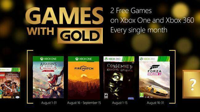 Xbox Games with Gold: Gratisspiele für August frühzeitig geleakt?