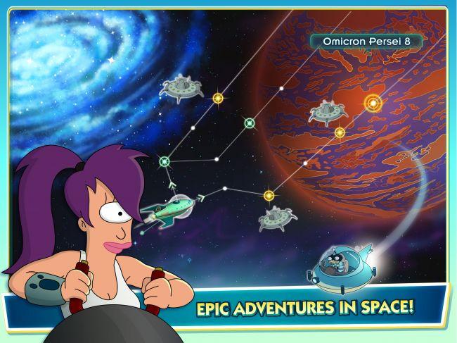 Futurama: Worlds of Tomorrow - Screenshots - Bild 5