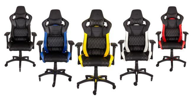 Corsair T1 Race Gaming Stuhl Im Rennsitz Look Test Von Gameswelt
