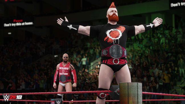 WWE 2K18 - Screenshots - Bild 2