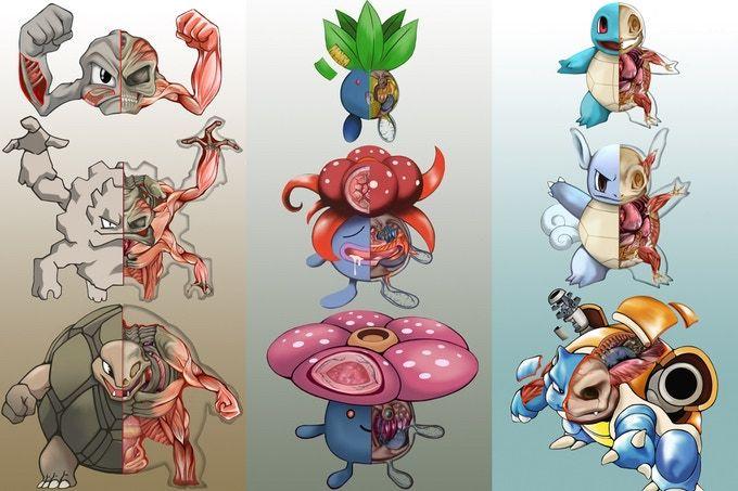 Pokémon: Kickstarter-Projekt: So sehen die Monster gehäutet aus ...