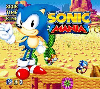 Sonic Mania - Test