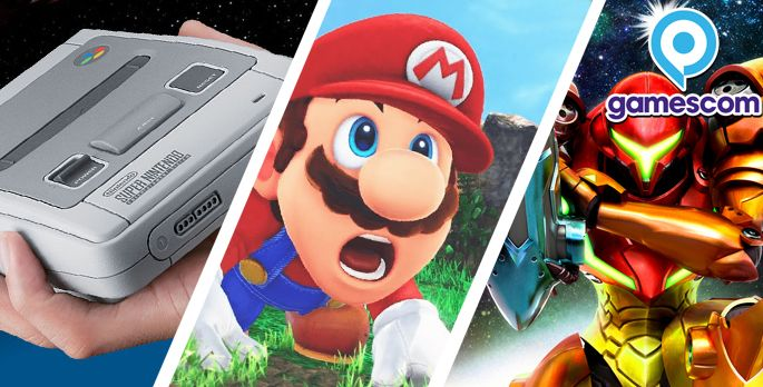 Super Mario Odyssey, SNES-Mini, Metroid - Preview