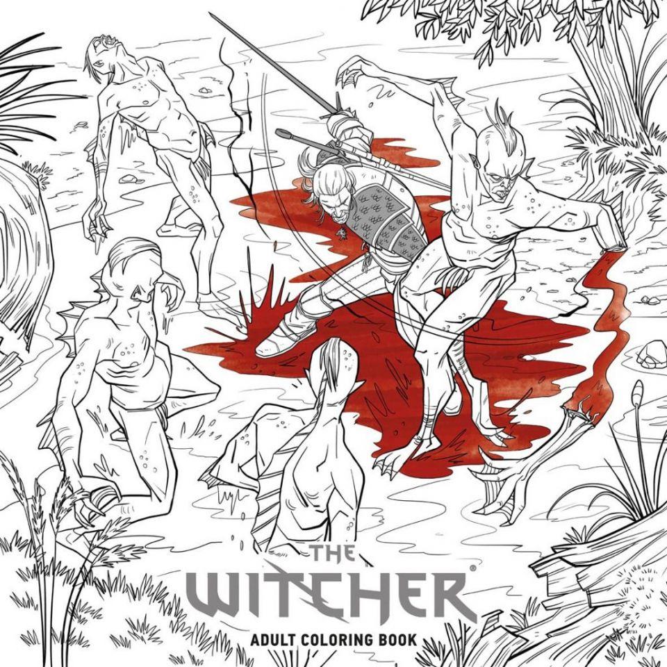 The Witcher: Total abgedreht: Nun erscheint sogar ein Malbuch ...