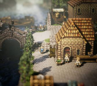 Octopath Traveler - Screenshots