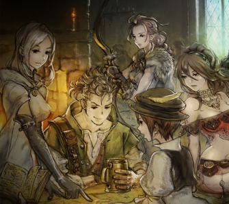 Octopath Traveler - Test