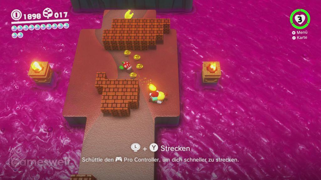 Super Mario Odyssey Komplettlösung Fundorte Aller Power Monde Und