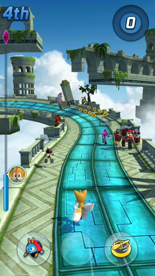 Sonic Forces: Speed Battle - Screenshots - Bild 3