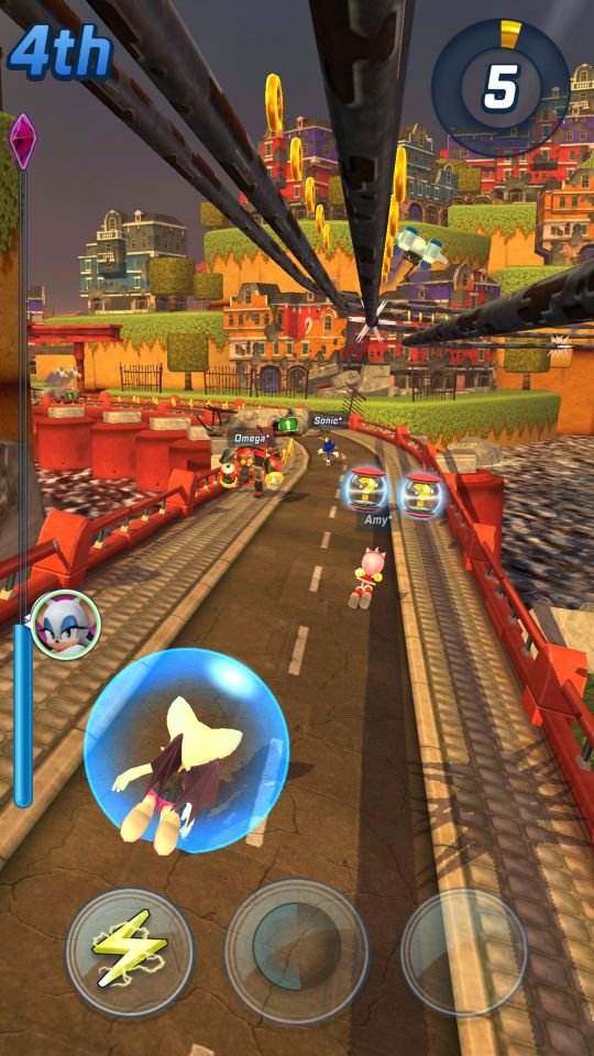 Sonic Forces: Speed Battle - Screenshots - Bild 1