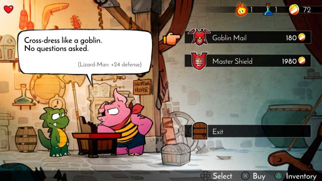 Wonder Boy: The Dragon's Trap - Screenshots - Bild 8