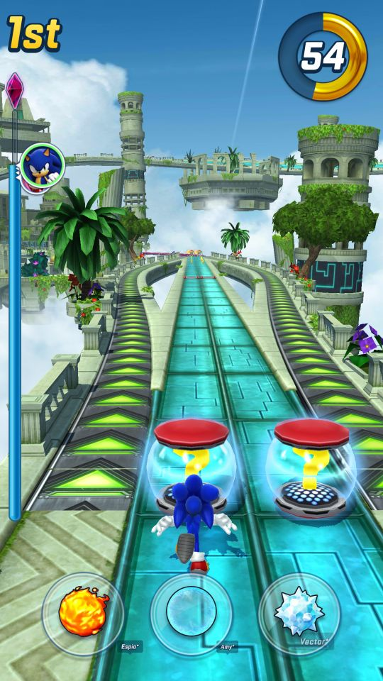 Sonic Forces: Speed Battle - Screenshots - Bild 4