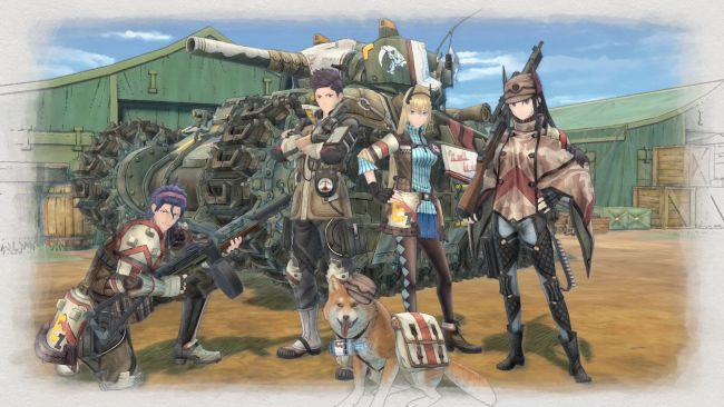 Valkyria Chronicles 4 - Artworks - Bild 1